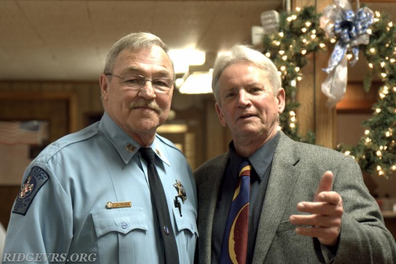 St. Mary's Co. Sheriff's Office Captain Terry Black and Sam Sayers