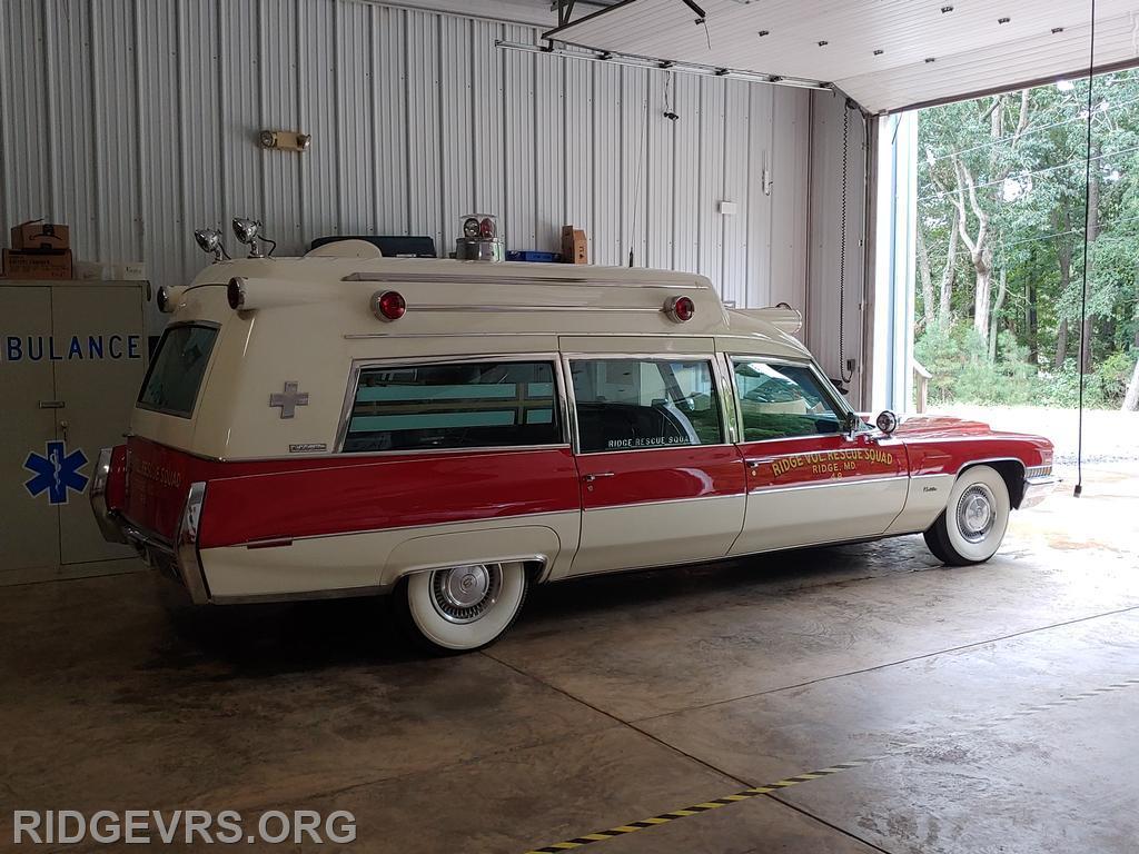 Ambulance 48 - 1972 Cadillac
